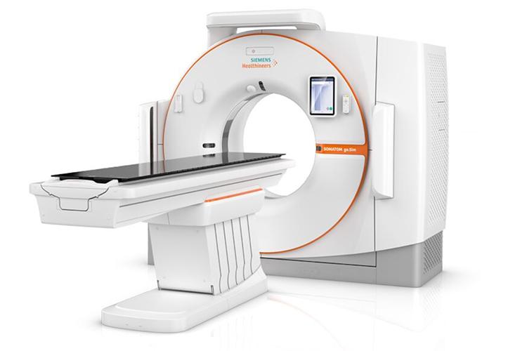 CT simulation  -  Somatom